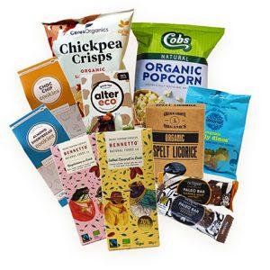 Organic Chocolate & Snacks Shop